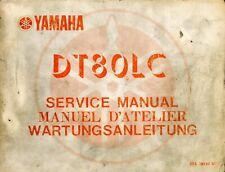 Yamaha DT80LC 1983 Service Manual 37A-28197-80
