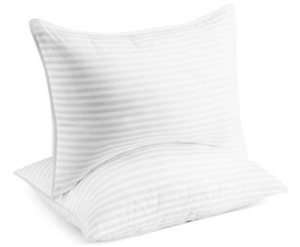 Queen Size Beckham Hotel Collection Luxury Gel Pillow 2 Pack -GG