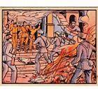 "LOYALISTS TAKE REBELS PRISONERS in BARCELONA- 1938 GUM INC ""horrors of war"" card"