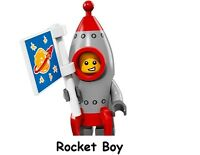 LEGO Series 17 Collectable Minifigure Rocket Boy Kid #13 FACTORY SEALED NEW