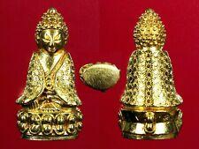 THAI AMULET Beautiful Phra KRING PAWARET Parb-Ho Neur Thong Pasom Thai Amulet