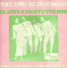 "GLADYS KNIGHT & THE PIPS ‎– The End   (1968 MOTOWN VINYL SINGLE 7"" HOLLAND)"