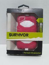 Survivor Case Ipod Touch 4th Generation  Pink&white