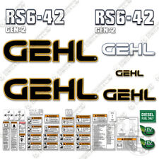 Gehl Rs6 42 Decal Kit Telescopic Forklift Rs6 42 Replacement Stickers Older