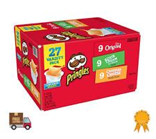 Pringles Snack Stacks Potato Crisp Chips Flavored Original Variety Pack 27 Pack