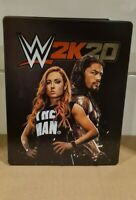 WWE 2K20 Limited Edition Steelbook Case Only (NO GAME) **FREE UK POSTAGE**