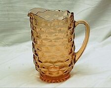 Old Vintage Colony Whitehall Peach Pitcher Stacked Cubed Design Kitchen Tool