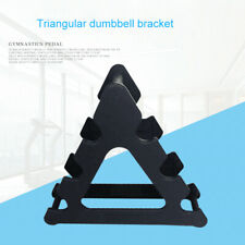 Gym Hand Weight Dumbbell Storage Holder Tree 3 Tier Rack Weights Stand Organizer