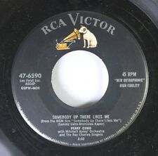Pop 45 Perry Como - Somebody Up There Likes Me / Dream Along With Me On Rca