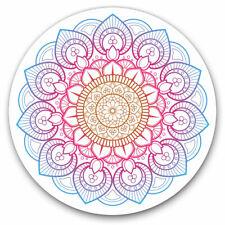 2 x Vinyl Stickers 10cm - Indian Mandala Boho Yoga Cool Gift #19362
