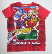 Spider-Man 100% Cotton T-Shirts & Tops (2-16 Years) for Boys