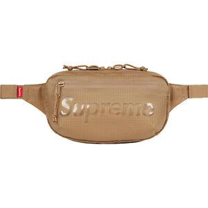 SUPREME Waist Bag Red Camo Black Royal Tan box logo S/S 21