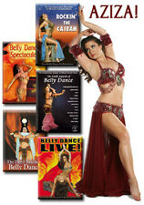 Aziza Belly Dance Show / Performance - Set of 5 DVDs / Videos