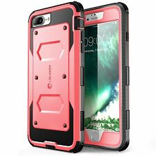Etui Apple iPhone 7 + Plus Housse Coque Protection Armorbox Rose