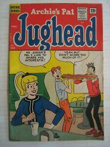 1964 Archie Series Comic Book; #114; Archie's Pal -Jughead; November