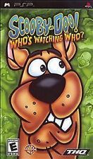 Scooby-Doo Who's Watching Who UMD PSP GAME SONY PLAYSTATION PORTABLE