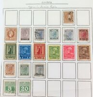 .AUSTRIA OFFICES in TURKISH TURKEY EMPIRE. MH & UH STAMPS. SOME VERY NICE GRADES