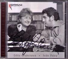Edita GRUBEROVA Signed FROM HEART TO HEART Ivan PALEY Schumann Dvorak Brahms CD
