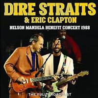 """DIRE STRAITS & ERIC CLAPTON : """" Neslon Madela Benefit Concert 1988"""" (RARE CD)"""