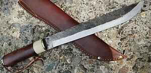 Saxmesser  Wikinger Messer Bowiemesser Survival Gürtelmesser Kohlenstoffstahl