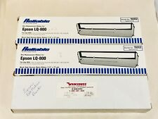 EPSON MX/FX 80 and EPSON LQ-800 Replacement Ribbons (Lot of 3)