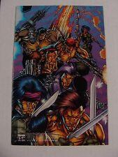 Wetworks #2 Whilce Portacio Wildstorm 1994 Puzzle Cover (1994) * Image Comics *