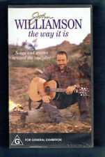 #VV5.  VHS  MUSIC VIDEO TAPE - JOHN WILLIAMSON, THE WAY IT IS