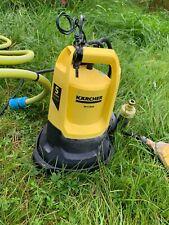 More details for karcher sp 5 dual water pump 9500l per hour / with hose