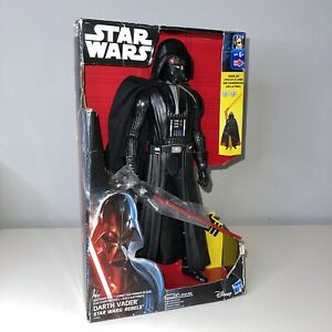 """Star Wars Rebels 12"""" Electronic Duel Darth Vader Action Figure Light Up Squeeze"""