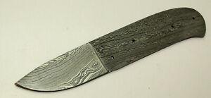 Damastmesser Rohling Outdoor- oder Jagdmesser Klinge Nr. 17