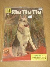 RIN TIN TIN #10 FN- (5.5) DELL COMICS SEPTEMBER 1955