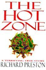 Hot Zone by Richard Preston V-GOOD HC/DJ