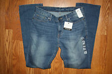 NWT Mens Calvin Klein Medium Wash Straight Jeans Pants 40 W 30 L