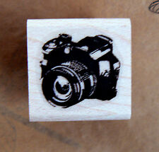 P24 Photo camera miniature rubber stamp WM
