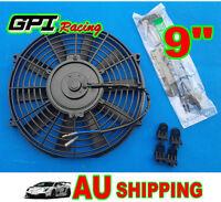 "9"" 9 inch Universal Electric Radiator / Intercooler COOLING Fan & mounting kits"