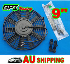 "9"" 9 inch Universal Electric Radiator / Intercooler COOLING Fan +mounting kits"