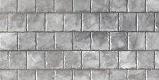 1:12 Scale Dolls House Empire Slate Roofing Paper DIY A3 (29.7cm x 43cm) WP545