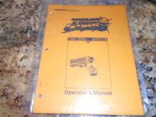 "Time Crisis Namco Arcade 50"" Monitor Operator's Manual"