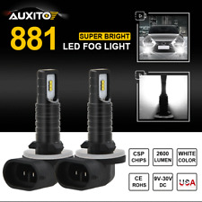 New 2x 881 886 889 Super Bright White 6000K Csp Led Fog Light Driving Drl 2600Lm