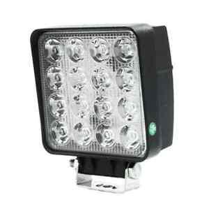 LED Arbeitsscheinwerfer 48 Watt Viereckig