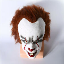 Hot Movie Stephen King's IT Clown Pennywise Halloween Cosplay Scary Mask Costume