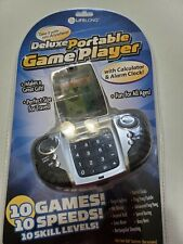 LIFELONG DELUXE PORTABLE GAME PLAYER WITH ALARM CLOCK AND CALCULATOR & 10 games