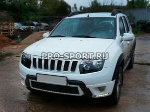 Renault (Dacia)Duster, 2010 2011 2012 2013-2016 radiator grille Jeep style
