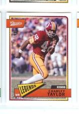 CHARLEY TAYLOR 2018 PANINI CLASSICS RED BACK #/299 PARALLEL #189 REDSKINS
