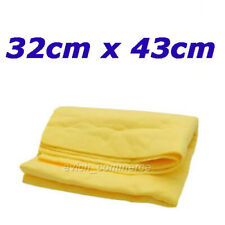 Synthetic-Chamois Clean Cham Wash Towel Cloth Wipes Magic 32 x 43cm