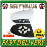 Left Passenger Heated Electric Wing Mirror Glass for NISSAN QASHQAI 2006-2014