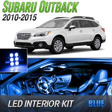 2010-2015 Subaru Outback Blue LED Lights Interior Kit