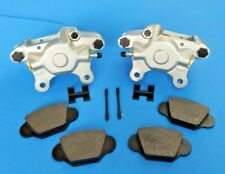 Set of 100% Brand New MGA Brake Calipers + Pads + Hardware Great Quality