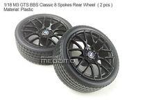 1/18 Kyosho BMW M3 spare parts for e90 e91 e92 e93 turning Rear BBS Black Wheel