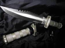 Grosses Gürtelmesser Angler Messer Edelstahl Buschmesser Outdoor Jagd B-Ware